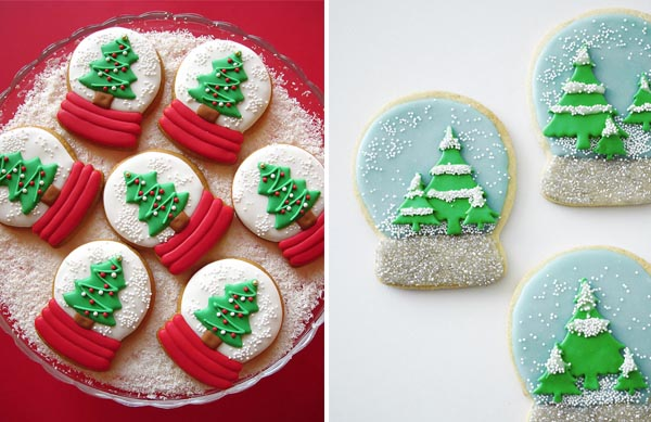 snow globe cookies recipe
