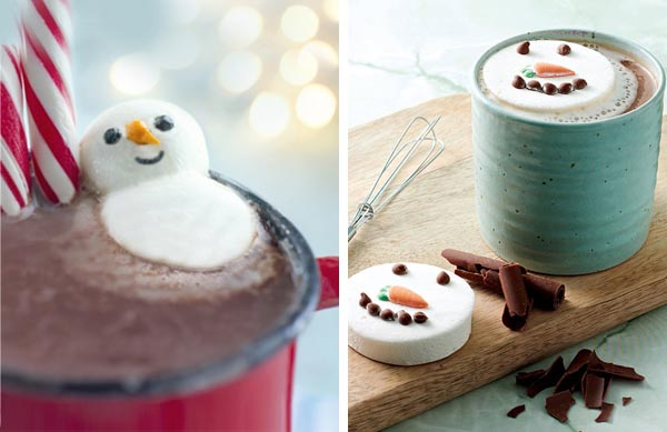 Marshmallow Snowman in Cocoa recipe