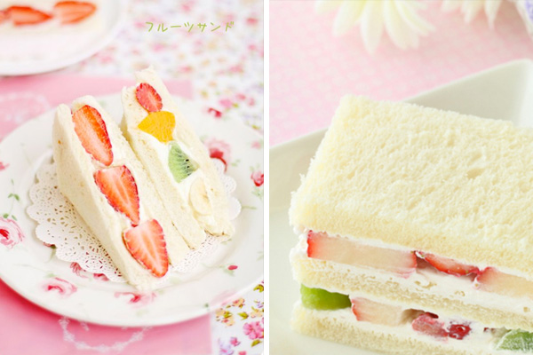 fruity japanese sandwich