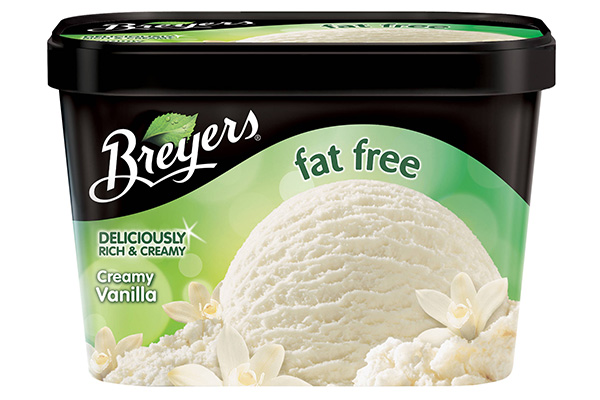 fat free ice cream