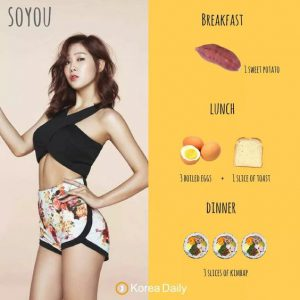 Soyou's Diet
